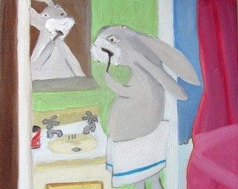 Bunny Shaving