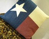 14 inch Texas Flag Pillow