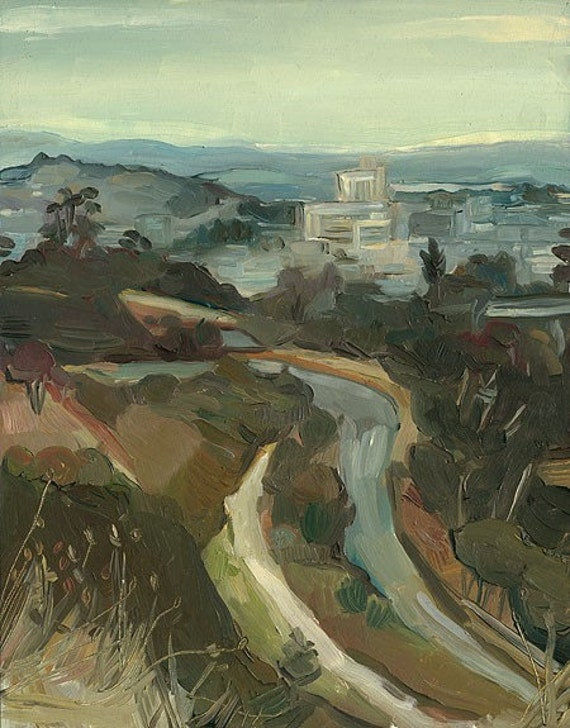 Elysian Park - Los Angeles Painting