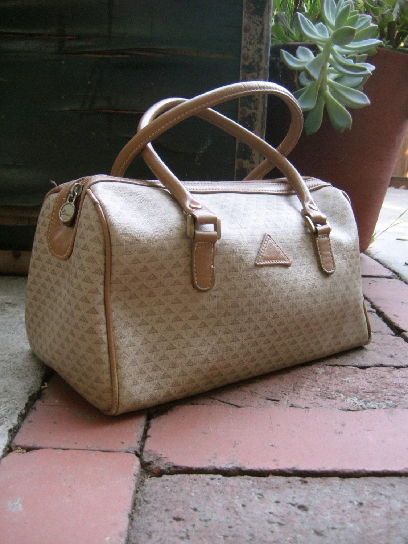 Vintage Liz Claiborne Logo Purse 1980s Handbag