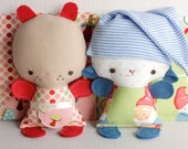Wittle Whimsy Molly and Seamus PDF Doll Pattern