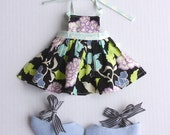 Bow Tie Shoes & Apron PDF Pattern Doll Clothing
