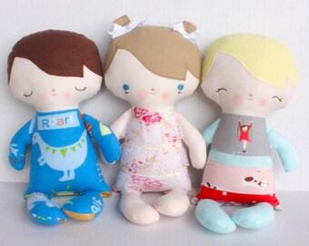 SALE Baby PDF Doll Pattern
