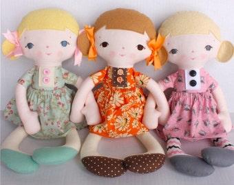 SALE Jean PDF Doll Pattern