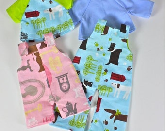 SALE Let's Play PDF Pattern Doll Clothing
