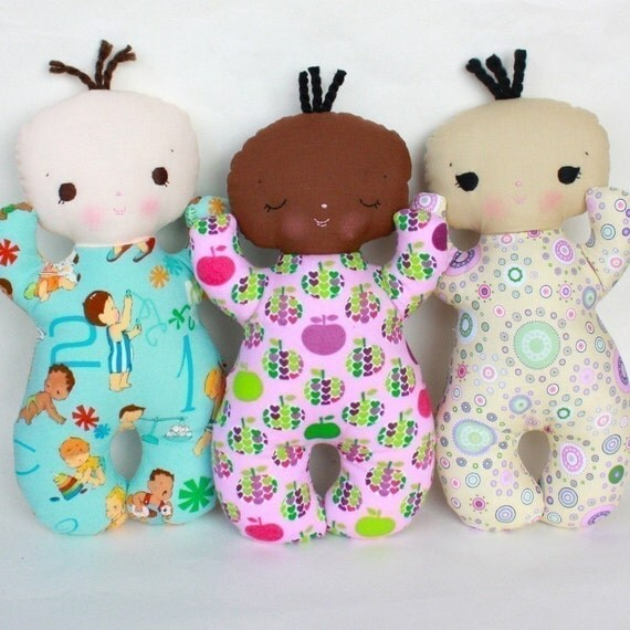 Butterbean PDF Doll Pattern