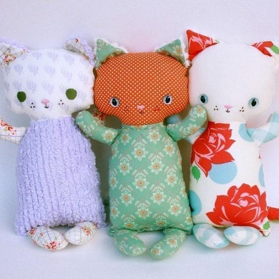 Katie Kitten PDF Doll Pattern