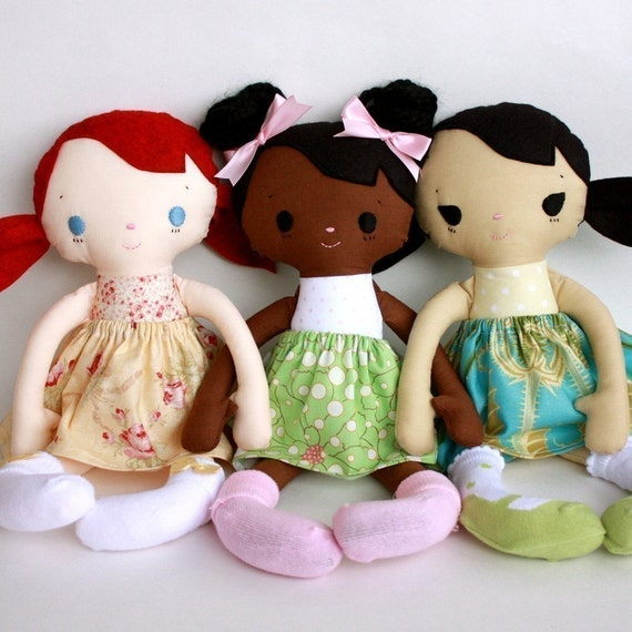 SALE Mae Doll PDF Pattern