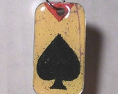 the ace of spades pendant charm...good luck