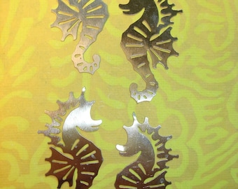 Seahorse Nickel Silver Photoetch Findings