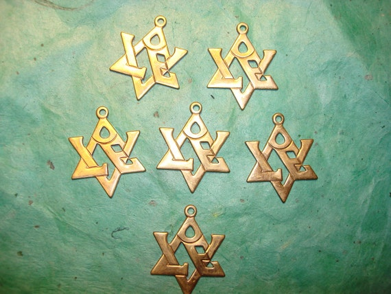 Star of David LOVE Symbol