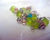 Stitch markers for socks and small needles
