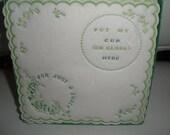 Vintage Paper Napkins Placemats Coaster .....cute