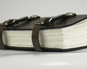 The Monk Leather Journal with Celtic Medallion