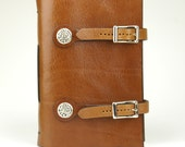Book of Kells Dragon Leather Journal - Tobacco (Tan)