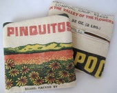 Pinquitos Recycled Change Purse - Upcycled Zipper Pouch