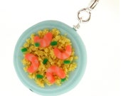 Shrimp and grits necklace