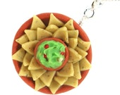 Chips and guacamole necklace