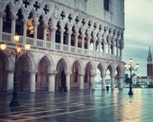 "St Mark's Square, Venice Photography, Italy Print, Venice Architecture Art, Travel Photography, Italian Wall Decor, ""Blue Hour"""