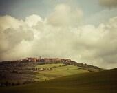"""Italian Landscape Photo, Rustic Decor, Tuscany Italy Art, Travel Photography, Italian Wall Art, Tuscan Decor, 8x10  """"Incantato"""""""