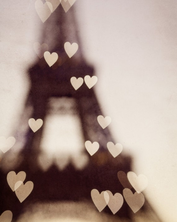 City of Love - Fine art Paris photograph - Eiffel Tower