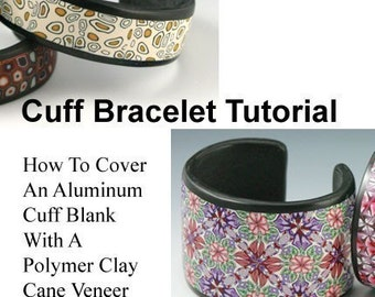 TUTORIAL - How to Cover Cuff Bracelet Blanks