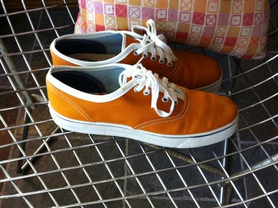 Vintage Made in U.S.A. orange US men's 8/US women's 9.5 shoes