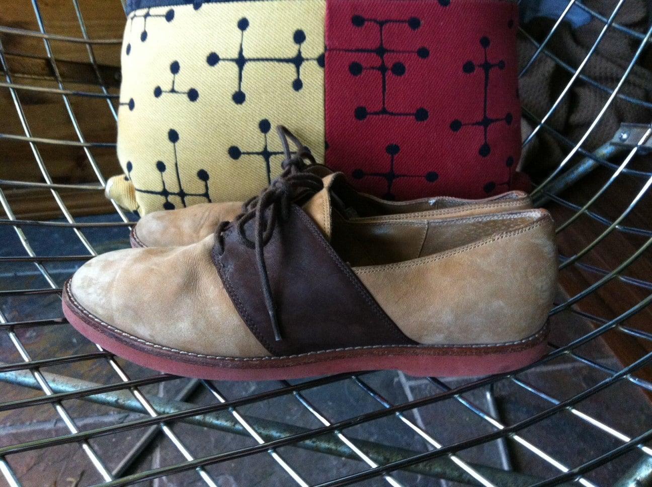 Vintage 9 Nine West Saddle Shoes Women's Size 6/7 Suede