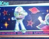 "BUZZ LIGHTYEAR Ceiling Fan 42"" w/Light Low VOC Toy Story Hand Crafted Boys"