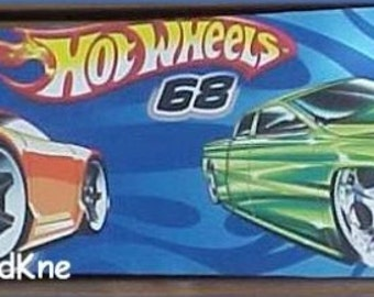 """HOT WHEELS Ceiling Fan Blades (4) Hand Crafted For 42"""" - 44"""" Fan"""