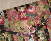 small embroidered floral Gypsy Portfolio