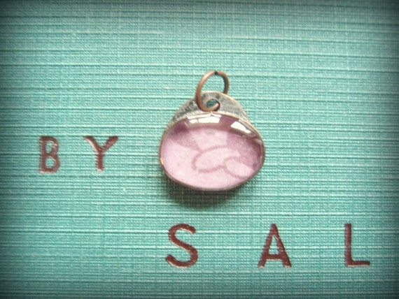 lil oval pendant