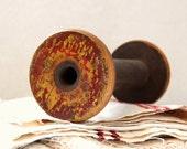 vintage wooden spool. no.3.