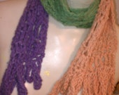 Jolly Rancher Crochet Scarf by IM.Butterfly Creations .....free HoliDay ShiPping