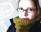 Inside-Out Cowl -- Knitting Pattern PDF