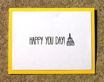 Happy You Day (Birthday) Card