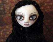 the ghost you left behind II ooak art doll