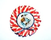 Circus Brooch - Contorsionists