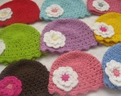 12mths to 24mths, Child Flapper Hat - You pick color and size
