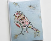 Song Bird No.2 (Set of six note cards)