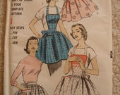 Advance 8160 Vintage Apron Pattern