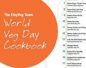 EtsyVeg World Vegetarian Day Cookbook Ebook