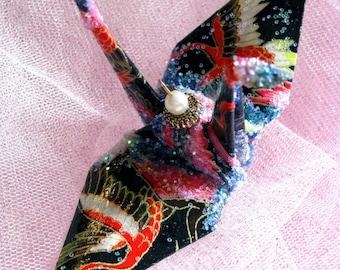 Senbazaru 1000 Peace Cranes Wedding Cake Topper Favor Origami Christmas Ornament Japanese Bird Paper