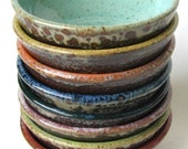 Stack of eight colorful prep bowls Custom Made