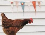 an 'itty bitty' crocheted garland...
