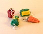 Garden Fresh Veggie Stitch Markers- Set of Four
