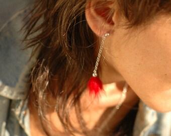 Foxy earring chain fire