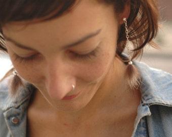 Foxy Earring chain striped