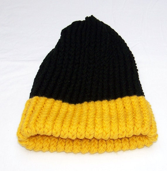 Black and Gold Hat
