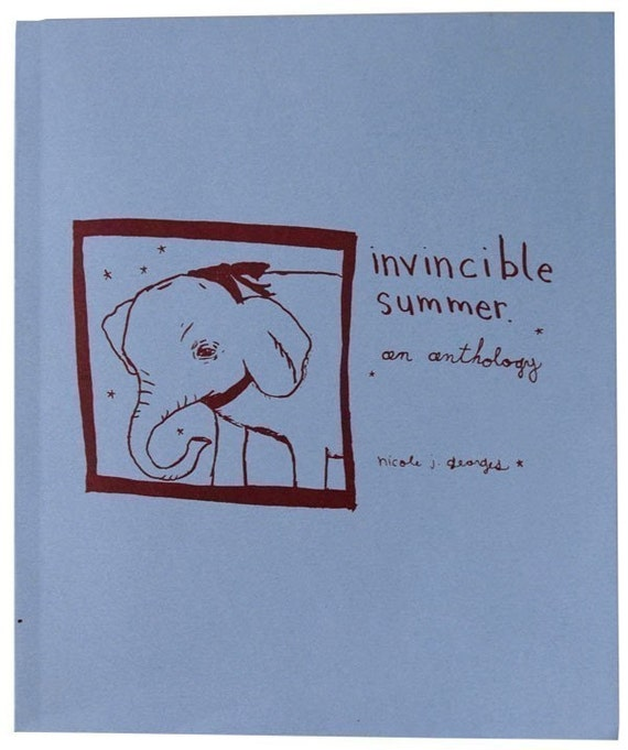 Invincible Summer Anthology Vol. I , signed by author